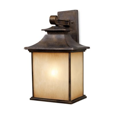 ELK Lighting San Gabriel 1-Light 19-Inch Outdoor Sconce in Hazelnut Bronze