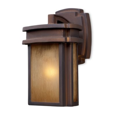 ELK Lighting Sedona 1-Light Outdoor Sconce in Hazelnut Bronze