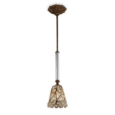ELK Lighting Trump Home™ Mar-a-Lago™ Senecal 1-Light Pendant in Spanish Bronze