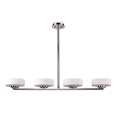 ELK Lighting Sousa 4-Light Island Light in Polished Nickel
