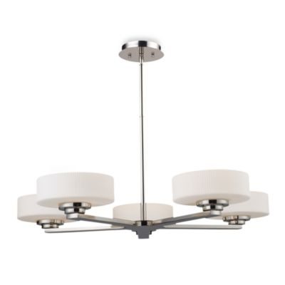 ELK Lighting Sousa 5-Light Chandelier in Polished Nickel