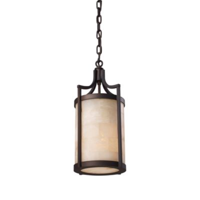 ELK Lighting Spanish Mosaic 1-Light Pendant in Age Bronze