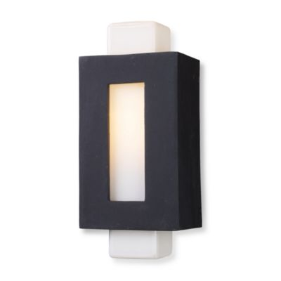 ELK Lighting Sundborn 14-Inch 1-Light Sconce in Matte Black