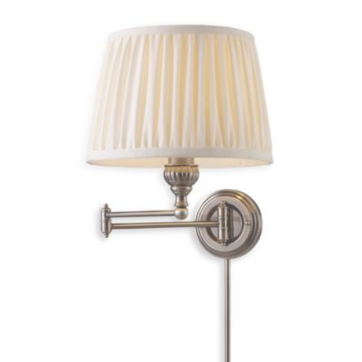 ELK Lighting Swingarm 1-Light Sconce in Antique Silver