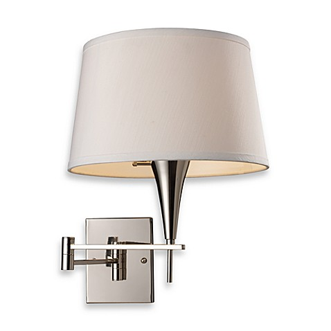 ELK Lighting Swingarm 1-Light Sconce in Polished Chrome