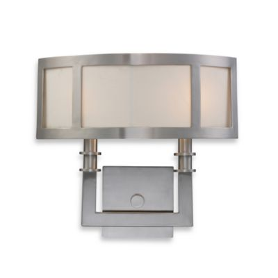 ELK Lighting Trump Home™ Seven Springs 2-Light Sconce in Satin Nickel