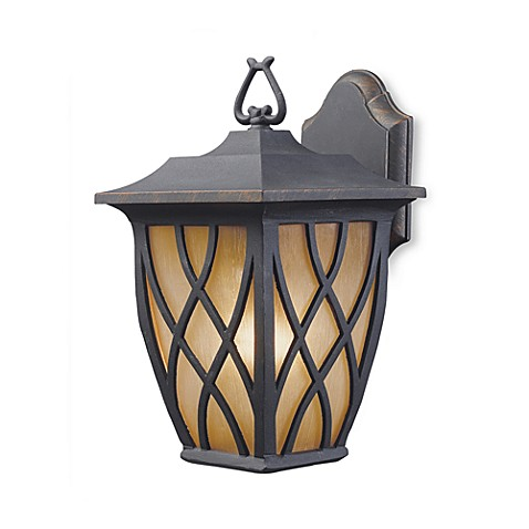 ELK Lighting Shelburne 1-Light 12-Inch Outdoor Sconce in Charcoal