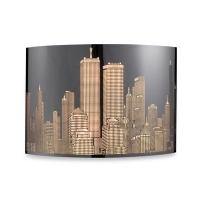 ELK Lighting Skyline 1-Light Sconce in Polished Stainless Steel