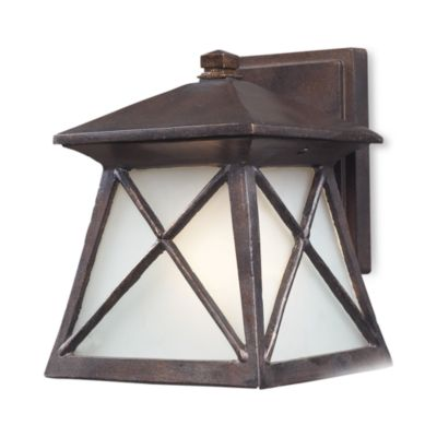ELK Lighting Spencer 1-Light 12-Inch Outdoor Sconce in Hazelnut Bronze