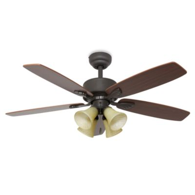 Philmont 52-Inch 4-Light Ceiling Fan in Bronze