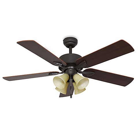 Northbrook 52-Inch 4-Light Ceiling Fan in Bronze