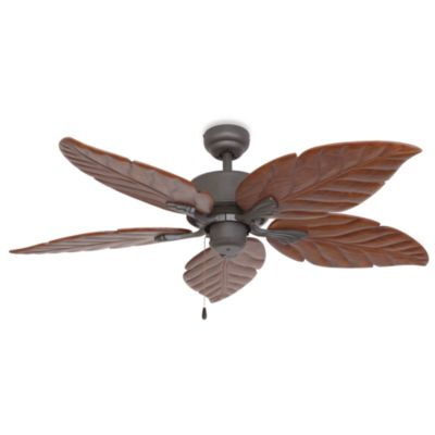 52-Inch Tortuga Bronze Ceiling Fan