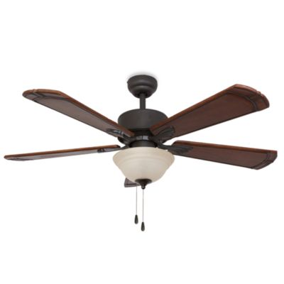 52-Inch Westmont Bowl Light Bronze Ceiling Fan