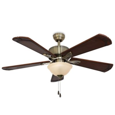 52-Inch Westbrook Aged Brass Ceiling Fan