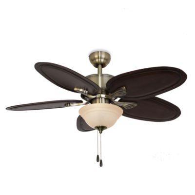 52-Inch Punta Cana Bowl Light Ceiling Fan