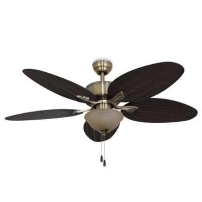52-Inch Boca Grande Ceiling Fan in Aged Bronze