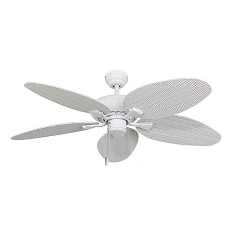 52 Inch Islamorada White Ceiling Fan
