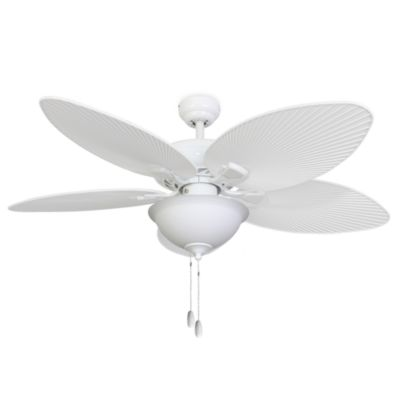 52-Inch Simonton Bowl Light White Ceiling Fan