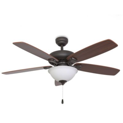 52-Inch Fells Point Bowl Light Bronze Ceiling Fan