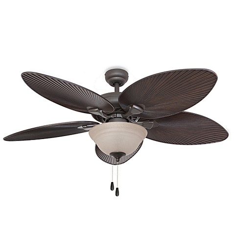 52-Inch Simonton Bowl Light Bronze Ceiling Fan