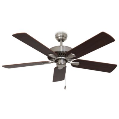 52-Inch Cordova Brushed Nickel Ceiling Fan