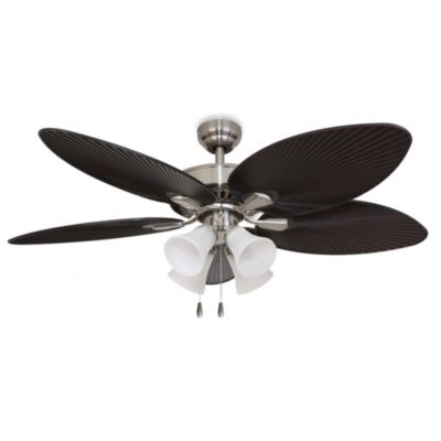 52-Inch Simonton 4-Light Brushed Nickel Ceiling Fan