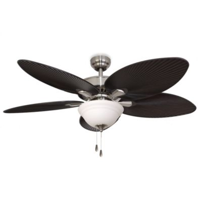 52-Inch Simonton Bowl Brushed Nickel Ceiling Fan