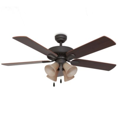 Cordova 52-Inch 4-Light Ceiling Fan in Bronze
