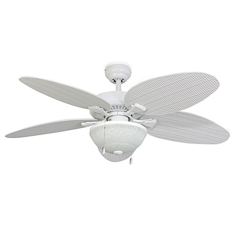 52-Inch Hawks Cay Outdoor Ceiling Fan with Light Kit