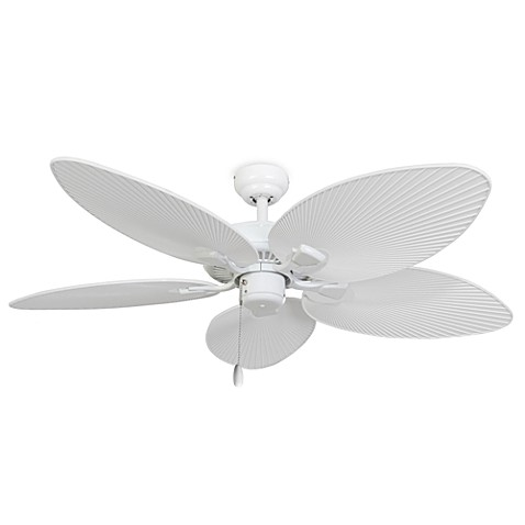 52-Inch Cabo Bay Outdoor White Ceiling Fan