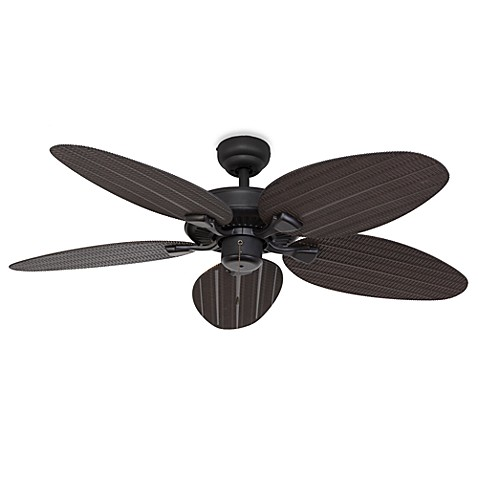 52-Inch Hawks Cay Outdoor Bronze Ceiling Fan