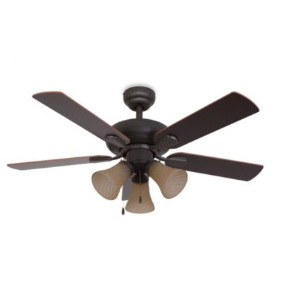 42-Inch Abbington 3-Light Bronze Ceiling Fan