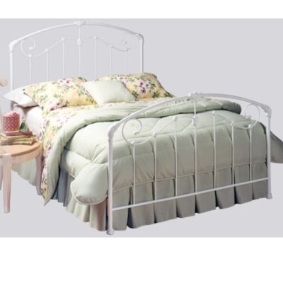 Hillsdale White Full Bed Set