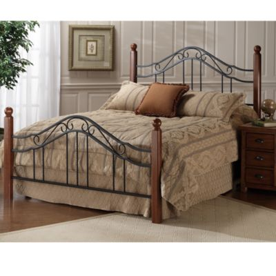 Hillsdale Madison King Bed Set with Rails