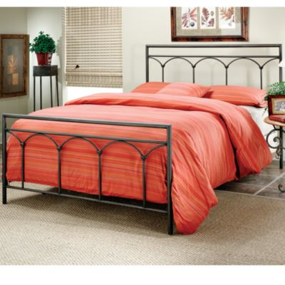 Hillsdale McKenzie King Bed Set with Rails