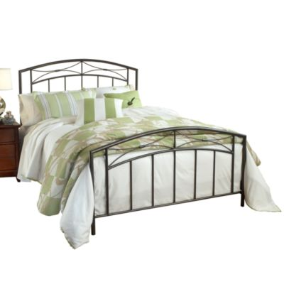 Hillsdale Morris Queen Bed Set with Rails