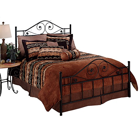 Hillsdale Harrison Queen Bed Set with Rails