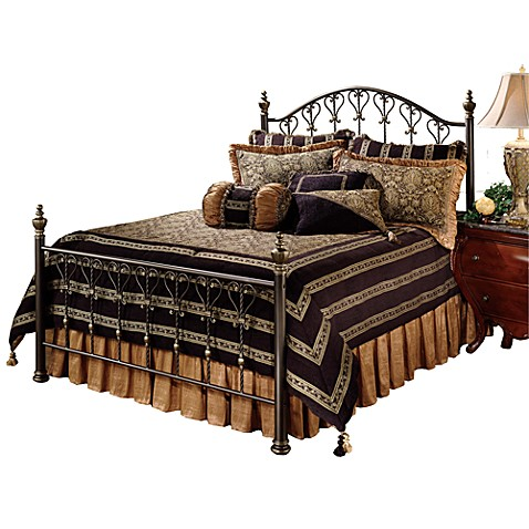 Hillsdale Huntley King Bed Set with Rails