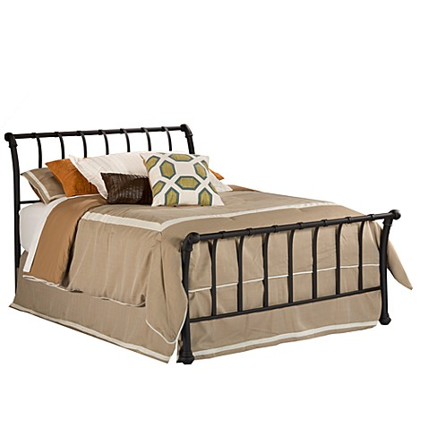 Hillsdale Janis Queen Bed Set with Rails