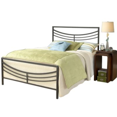 Hillsdale Kingston Complete Bed Set with Rails