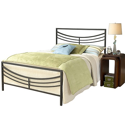 Hillsdale Kingston Queen Bed Set with Rails