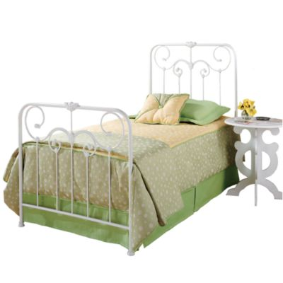 Hillsdale Lindsey Twin Bed Set with Rails
