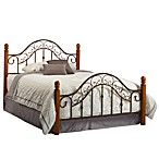 Hillsdale San Marco Bed Set with Post Kit & Rails