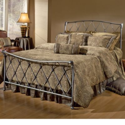 Hillsdale Silverton King Bed Set with Rails