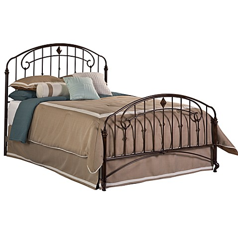 Hillsdale Tierra Mar Complete Bed Set with Rails