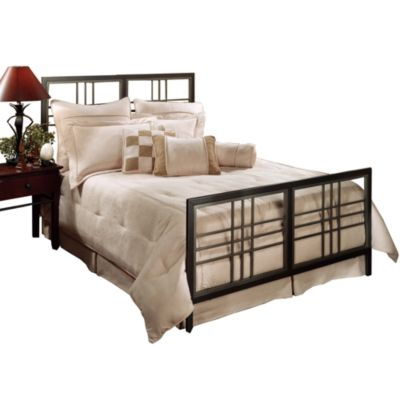 Hillsdale Tiburon Twin Bed Set with Rails