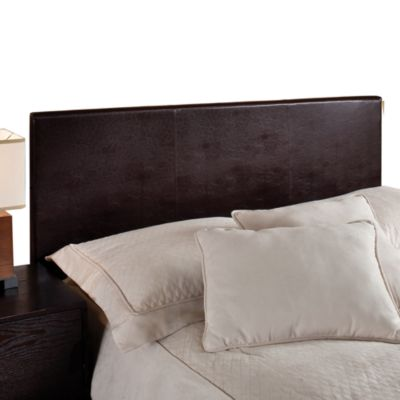 Springfield Black Full/Queen Headboard with Rails
