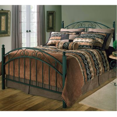 Hillsdale Willow Duo Panel Full Bed Set with Rails