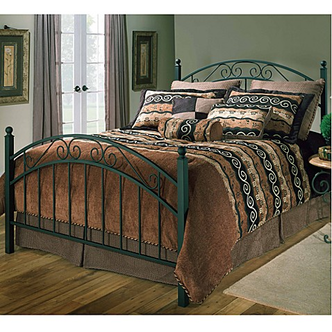 Hillsdale Willow Duo Panel Twin Bed Set with Rails