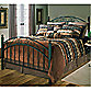 Hillsdale Willow Duo Panel Bed Set with Rails